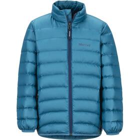 Marmot Highlander Dunjakke Drenge, moroccan blue